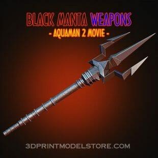 black manta weapons