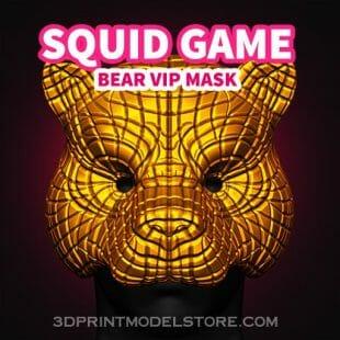 Squid Game Bear Vip Mask