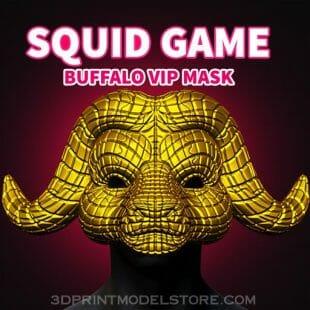 Squid Game Buffalo Vip Mask