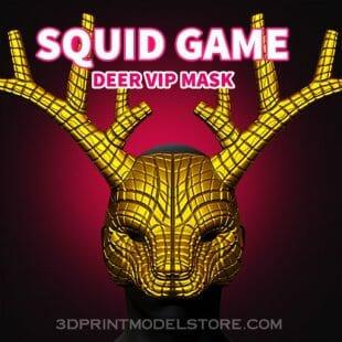 Squid Game Deer Vip Mask